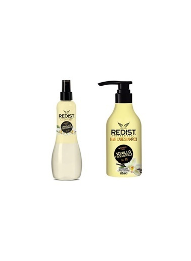 Redist Redist Vanilya Kokulu Fön Suyu No 92 400 Ml+Bakım Şampuanı No:90 500 Ml Renksiz